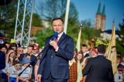 """Prezydent RP w """"królewskim mieście Parczew"""""""